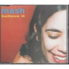 MASH (INDIE GROUP) Believe It CD UK Halo 1999 2 Track B/W All I Want (Hcds11)