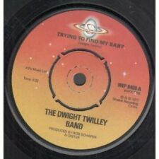 """DWIGHT TWILLEY BAND Trying To Find My Baby 7"""" VINYL UK Shelter 19"""