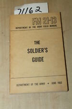 Dept of the Army The Soldier's Guide FM 21-13 Depart...