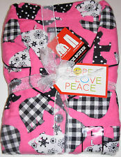 Joe Boxer 2pc Pajama Set Bears Adult Size Small New w/tags