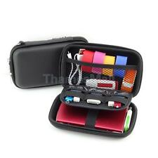 """Portable Carrying Bag Case for 2.5"""" Hard Drive HDD Cable Zipper Protective"""