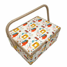 D&D Handmade Fabric CraftsSewing Box Storage Sewing Kits Sewing Box Accessories