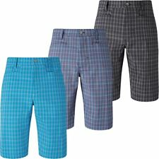 Callaway 2017 Opti-Dri Stretch Performance Tech Micro Plaid Mens Golf Shorts