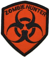 Zombie Hunter Biohazard Symbol - 2.5x3 Shield Patch