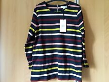 BNWT Whistles Multi Stripe Long Sleeve Tee Top UK8 rrp£65