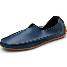 Fashion Men Driving Casual Boat PU Leather Shoes Moccasin Slip On Loafers Size