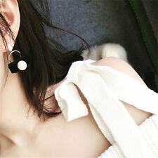 Earring Design Velvet For Women Cute Stud Earrings Pearl Pearl Earrings 1Pair