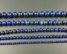 Natural Gemstone Blue Lapis Lazuli Beads Round Loose Beads 4mm 6mm 8mm 10mm A