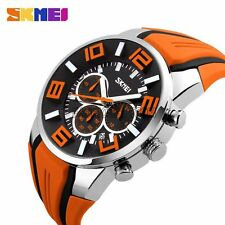 Men's Big Dial Army Military Analog Quartz Fashion Luxury Sport Date Wrist Watch