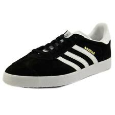 Adidas Gazelle   Round Toe Leather  Sneakers