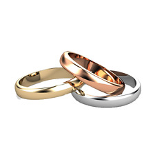 14KT SOLID GOLD SIZE 7 1.25 MM ROUND POLISH STACKABLE RING.