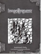 WOTC Greyhawk 3e Living Greyhawk RPGA - Ambition's Folly SC VG+