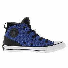 Converse CT All Star Syde Street Mid Black Blue Womens High Top Trainers Sneaker