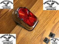 Wide Tombstone Tail Light for Harley 1973 & Later