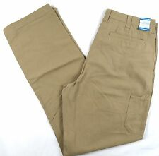 Men's Columbia ROC Pants Modern Classic Straight Chino Flax NWT