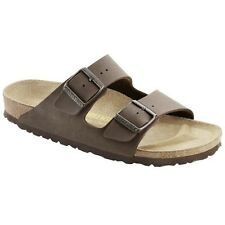 Birkenstock Arizona Sandals - Birko-Flor Nubuk - Color Mocca