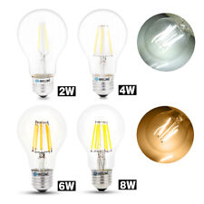 E27 2W/4W/6W/8W LED Bulb Light Filament Lamp Spotlight White / Warm White 220V