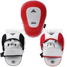MMA Boxing Training Punch Pad Gloves Karate Muay Thai Kicking Focus Target Mitts