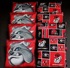UNIVERSITY OF GEORGIA BULLDOGS  8 ACA Regulation Cornhole Bean Bags B294