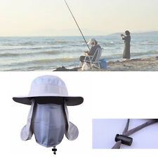 360-degree Fishing Cap Hiking Hat Neck Cover Ear Flap Outdoor UV Sun Protection