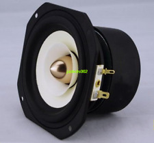 "1pcs 4""inch full-range Loudspeaker HIFI speaker 4/8ohm 15W 106*106mm 61-18.5KHz"