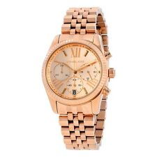 Michael Kors Lexington Ladies Analog Watch Sport Rose Gold MK5569 MK5503 MK5538