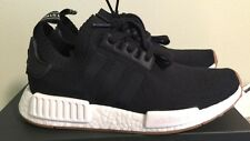 Adidas NMD R1 Runner PK Primeknit BY1887 Core Black Gum Pack