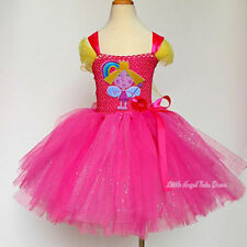 Ben and Holly's Little Kingdom Dress, Girls Fairy Princess Dress with LINED TOP