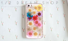 Flowers case for iphone 5s 5c 6 6s 7 plus Samsung case cover colorful daisy 2