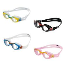 Kids UV Protection Silicone Swimming Goggles Anti-fog Swim Glasses + Mesh Bag
