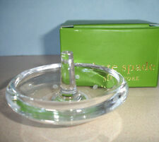 Kate Spade LARABEE DOT Crystal Ring Holder with Etched Dots New
