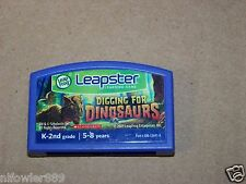 Leap Frog Leapster learning game Digging for Dinosaurs