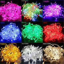 1XUseful 10M 100 LED Bulbs Christmas Fairy Party Starry String Lights Waterproof