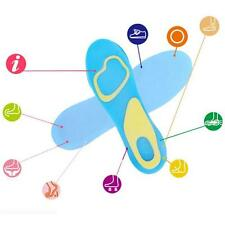Arch Foot Care Massaging Pad Sport Support 1 Pair Soft Insole Silicone Orthotic