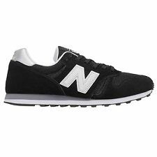 NEW BALANCE 373 TRAINERS BLACK SNEAKERS SHOES SUEDE SS17 BNWT 8 9 10 11 RETRO