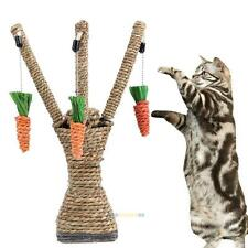 Pet Cat Kitten Scratching Post Toys Tree Tower Scratcher Sisal Rope Climbing Toy