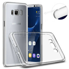 CLEAR ULTRA THIN SLIM TPU SILICONE GEL CASE COVER FOR SAMSUNG GALAXY S7 S8 PLUS