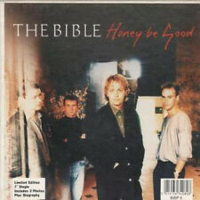 "BIBLE Honey Be Good 7"" VINYL UK Ensign 1989 Limited Edition With 3 Photos"