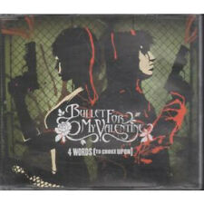 BULLET FOR MY VALENTINE 4 Words CD UK Torment 2005 2 Track B/W Curses Unedited