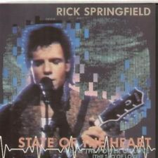 "RICK SPRINGFIELD State Of The Heart 7"" VINYL UK Rca 1985 B/W The Power Of Love"