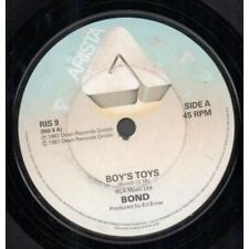 "BOND (SYNTH POP) Boy's Toys 7"" VINYL UK Arista 1987 B/W Do You Really Wanna"