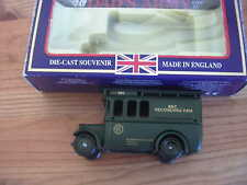LLEDO MODEL DADS ARMY BBC RECORDING VAN IN A SPECIAL DADS ARMY BOX.