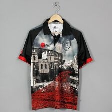 SAMURAI ARMY RUGBY UNION TOWERS POPPY SHIRT 2015