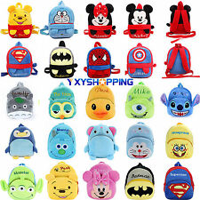 Boy Girl Kids Children Baby Toddler Disney Backpack Schoolbag Small Bag Rucksack