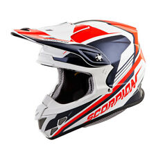 Scorpion Adult Neon Red/Blue VX-R70 Ascend ECE/DOT Off-Road Dirt Bike Helmet