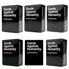 Hot Game Cards Against Humanity First Second Third Fourth Fifth Sixth Expansion