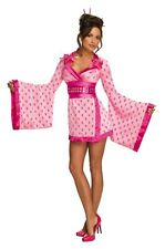 SALE! Adult Sexy Playboy Geisha Girl Ladies Hen Party Fancy Dress Costume Outfit
