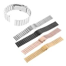 23mm Stainless Steel Wrist Band Strap Belt with Buckle for Fitbit Blaze Watch