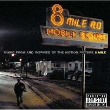 8 Mile Music from & Inspired by the Motion Picture] [PA] by Eminem (CD,2002) NEW