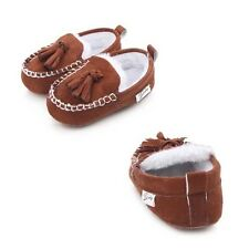 Winter Boots New Moccasins Princess Suede  Baby Shoes Newborn  Pu Leather  Hot